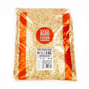 Agrofusion Large Flakes Oatmeal