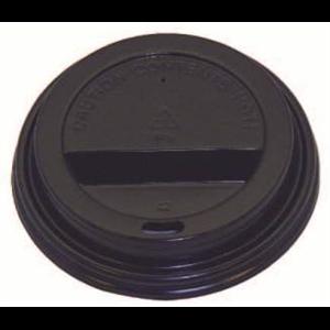Black Dome Lid 90mm