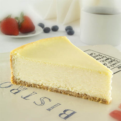 Sweet Street New York Cheesecake - 10""