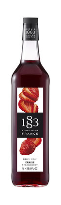 1883 Syrup Strawberry