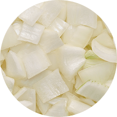 Onions White Sliced