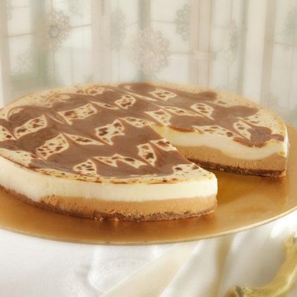 "Sweet Street Salted Caramel Brulée Cheesecake - 10"""