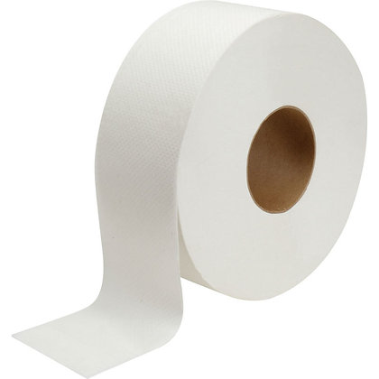 """JRT Jumbo Value Toilet Tissue with 3.3"""" Core 2PLY (8LBS)"""