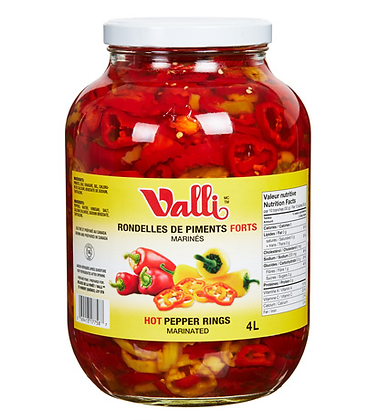 Delice de la Foret Valli Marinated hot peppers rings