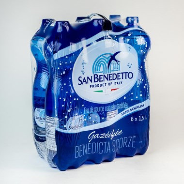 San Benedetto Carbonated Natural Spring Water 1.5 L