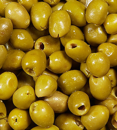 Delice de la Foret Valli Pitted green olives 130/150