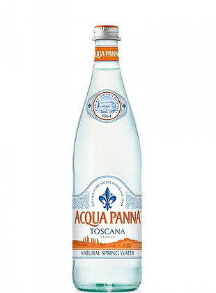 Acqua Panna Natural Spring Water 750ml Glass
