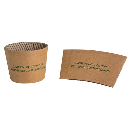 Insulated Paper Cup Sleeves 8oz