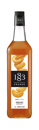 1883 Syrup Apricot