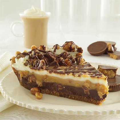 Chocolate Peanut Butter Pie with REESE'S �