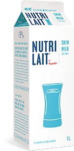 Nutrilait 0% Skim milk 1L