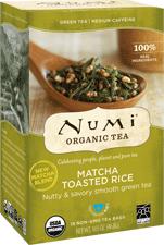 Numi Tea Matcha Toasted Rice