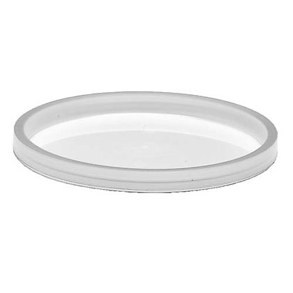 Table Accent-Recessed Lid - LLDPE - Translucent
