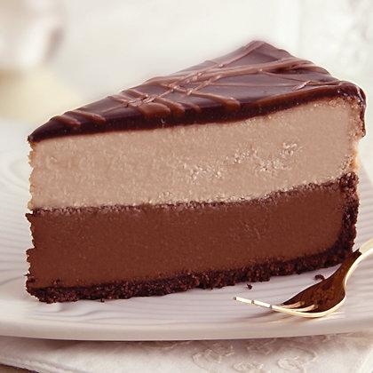 "Sweet Street Triple Chocolate Cheesecake - 9"""