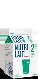 Nutrilait 2% Partly skimmed milk 473ml