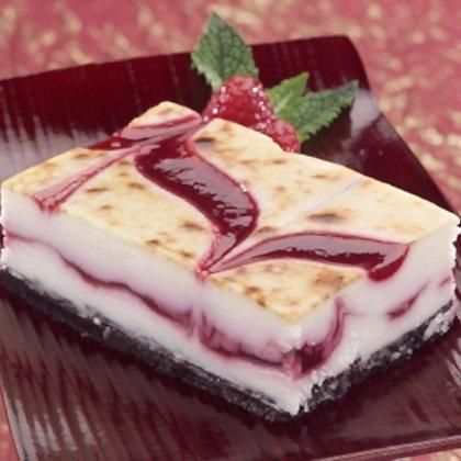 Sweet Street Brulée Raspberry White Chocolate Cheese Bar