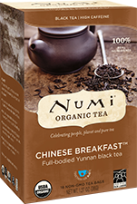 Numi Tea Chinese Breakfast