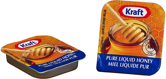 Kraft Pure Liquid Honey Cups 14g