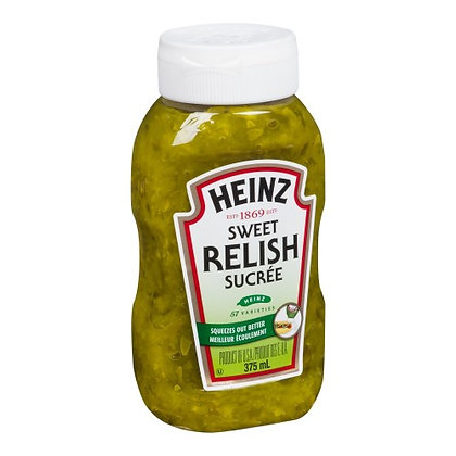 HEINZ Relish Upside Down 375ml