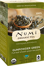 Numi Tea Gunpowder Green