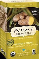 Numi Tea Decaf Ginger Lemon