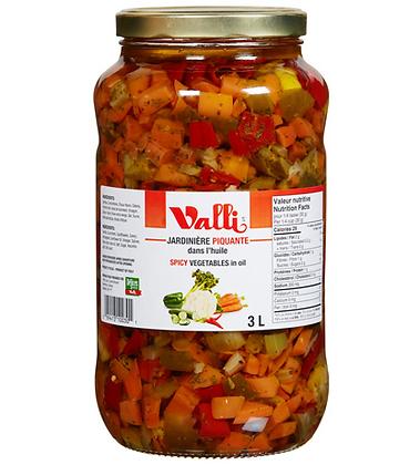 Delice de la Foret Valli Hot vegetables in oil