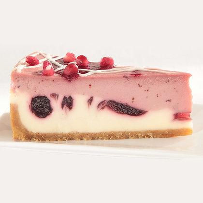 Sweet Street Pomegranate Parfait Cheesecake