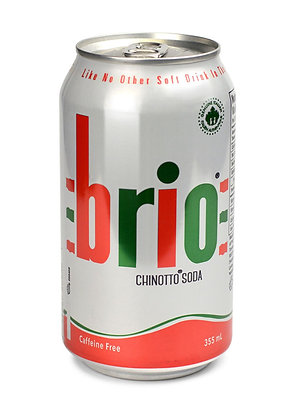 Brio Chinotto Cans