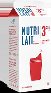 Nutrilait 3.25% Homogenized milk 2L