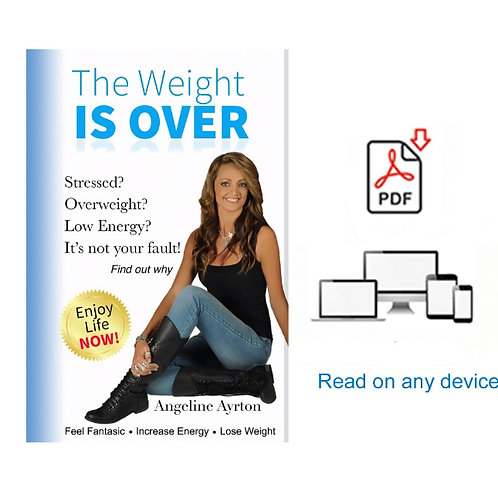 'The Weight is Over'  Angeline Ayrton Digital PDF Version 140 pages