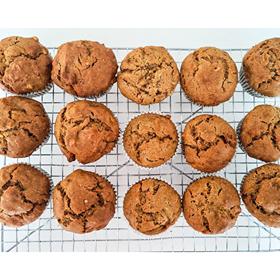 Pumpkin Muffins (Using the Pumpkin Guts)