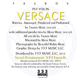Put You In Versace cover art credits cop