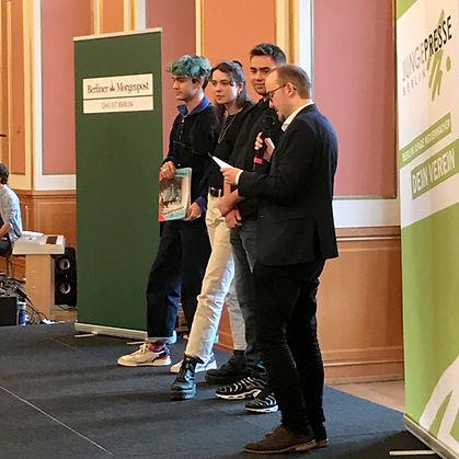 Newsreport gewinnt ersten Preis