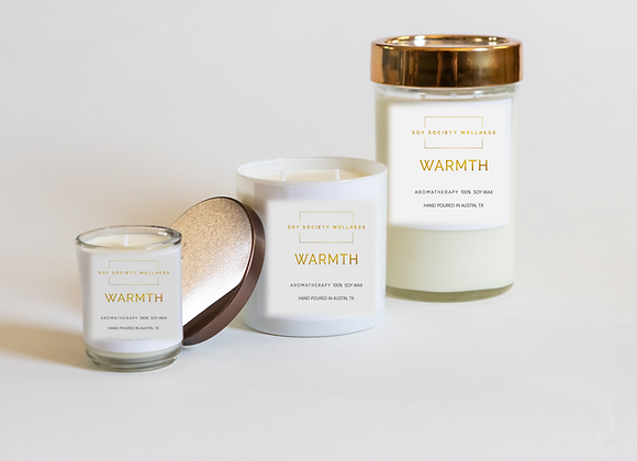 WARMTH CANDLE - LIMITED EDITION
