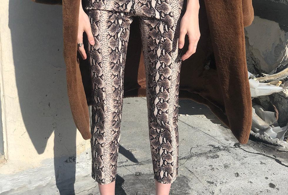 Snakeeee Skin Pants