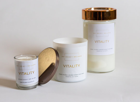 VITALITY CANDLE- Best Seller!