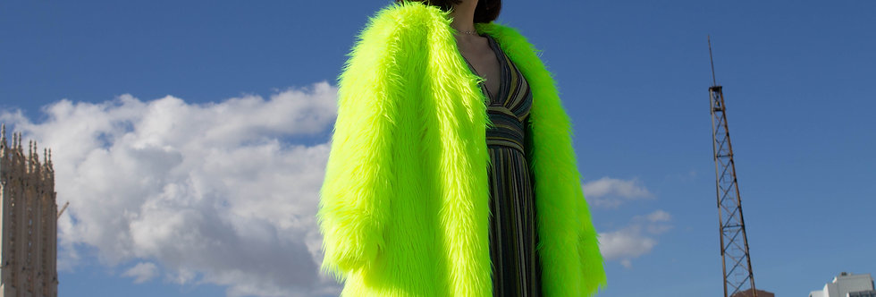 Highlighter Fur Coat