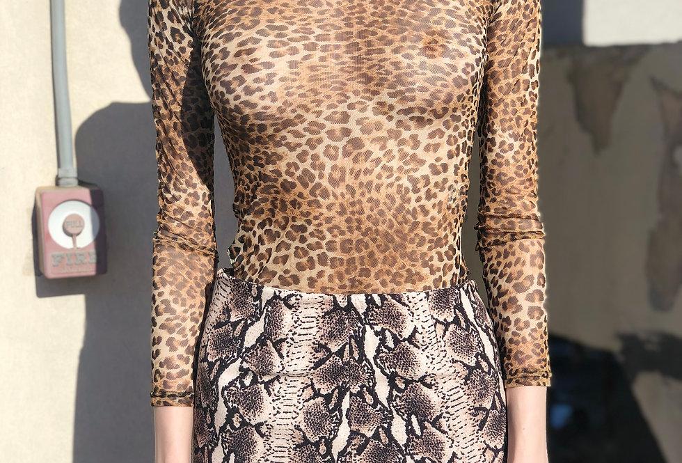 Leopard Cat BodySuit
