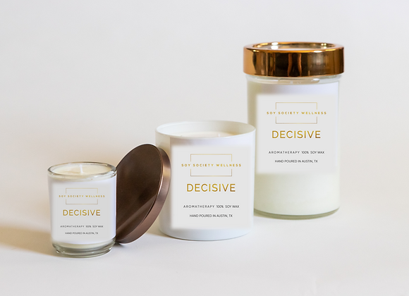 DECISIVE CANDLE - LIMITED EDITION