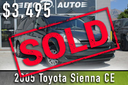 2005 Toyota Sienna CE Sold