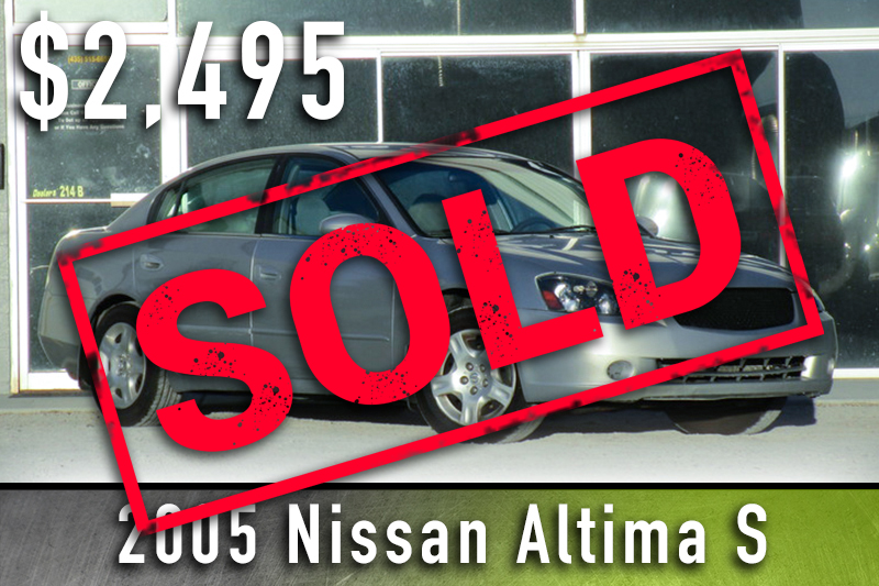 2005 Nissan Altima S Sold