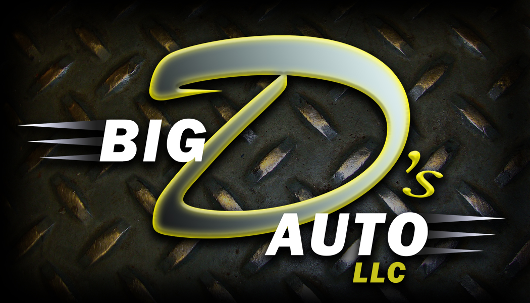 Big D's Auto Business Cards (front)