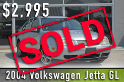 2004 Jetta Sold