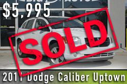 2011 Dodge Caliber Sold