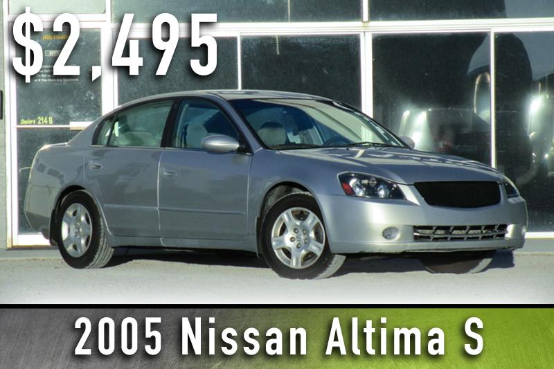 2005 Nissan Altima S