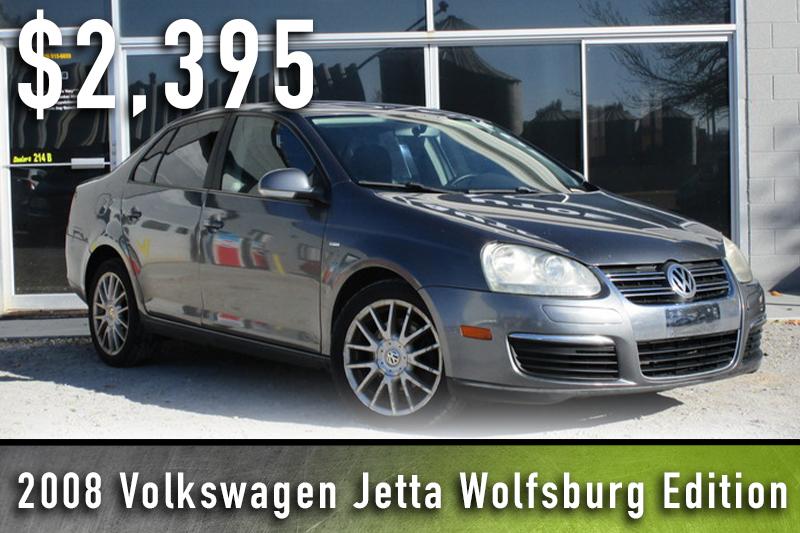 2008 Volkswagen Jetta Wolfsburg Edition.