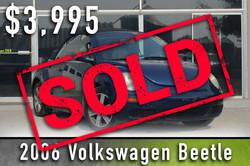 2006 Volkswagen Beetle Sold