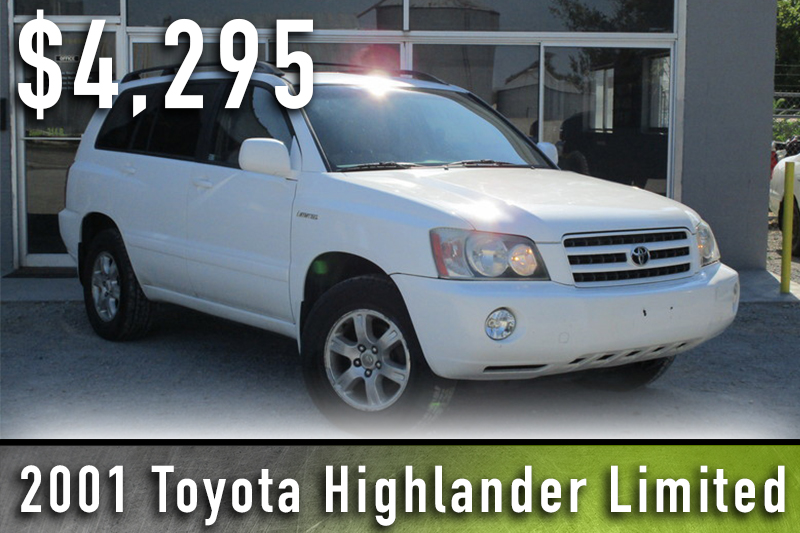 2001 Toyota Highlander Limited