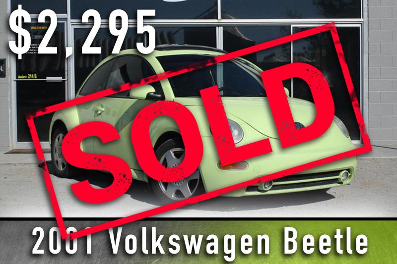 2001 volkswagen beetle sold