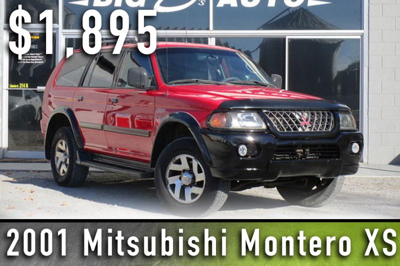 2001 Mitsubishi Montero XS
